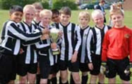 The Bolton Primary Schools' 7-a-side Football Cup Winners