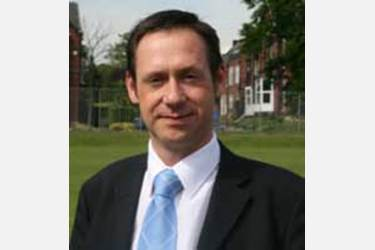 Mr Stephen Whittaker, the new Head at the Boys Division Junior School