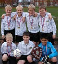 Five-a-side team retains the Bolton Primary Schools Football Shield