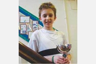 The Year 6 British Schools Biathlon Champion