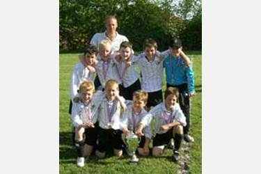 Bolton Boys triumph in football cup final