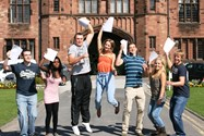 Students celebrate outstanding A level results
