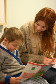Reading with and mentoring younger pupils is a popular volunteering choice