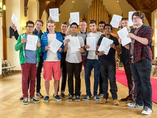 Pupils celebrate excellent GCSE results