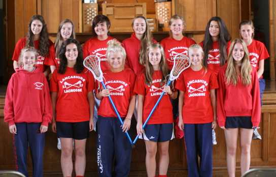 Bolton School Girls chosen to represent Lancashire at Lacrosse