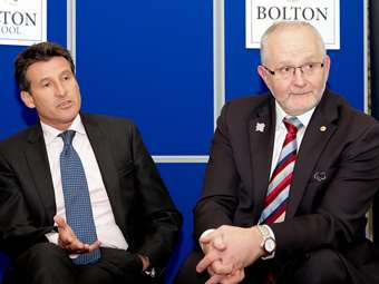Lord Coe and Sir Philip Craven