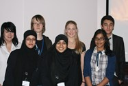 Bolton students enjoy the Fusion lecture at Bolton Central Library