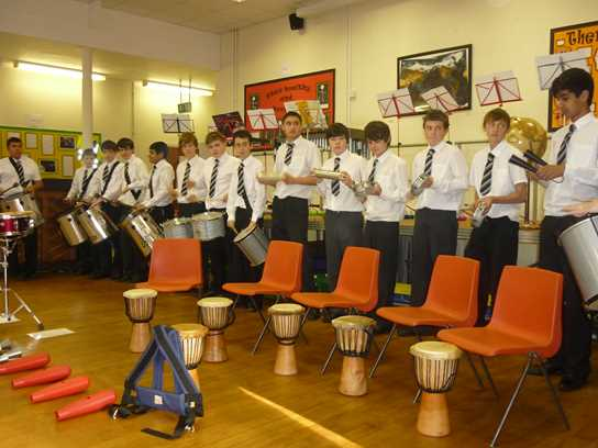 The Percussion Ensemble