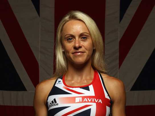 Jenny Meadows, European 800m indoor champion, will address the girls in the afternoon's keynote speech