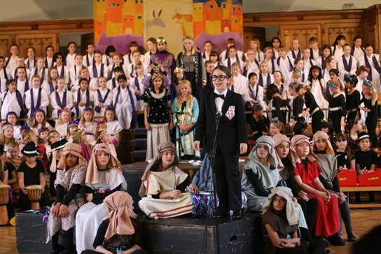 Junior Girls Nativity Performance