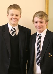 Lewis Daly and Aaron Winstanley