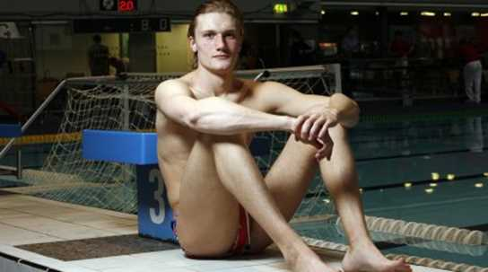 Ed Scott, Great Britain Water Polo Goalkeeper