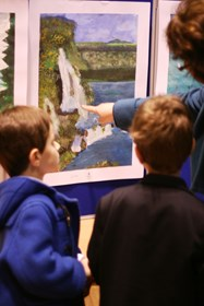 Junior Boys Art Exhibition