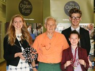 Sir Harry Kroto regularly visited School
