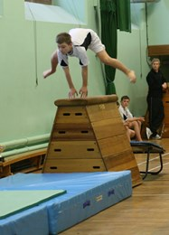 Year 8 gym competition