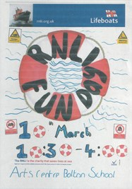 RNLI Fun Day poster