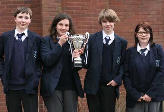 Westhoughton High School - Physics Olympics winners