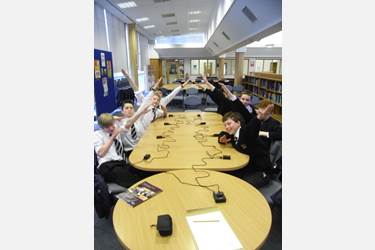 Bolton School Year 8 Schools Challenge quiz teams
