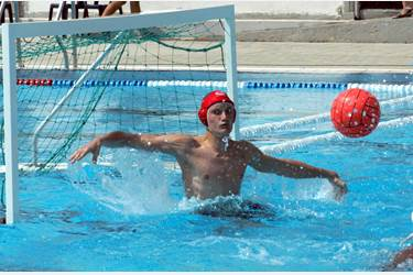 Edward Scott, water polo goalkeeper