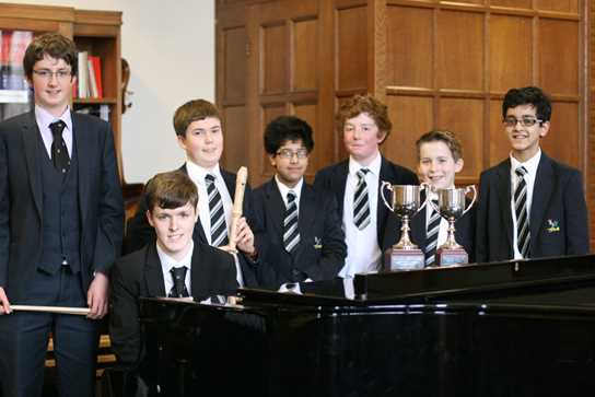 The Boys' Division Young Musicians of the Year 2012