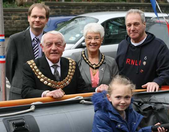 The Mayor and Mayoress of Bolton open the RNLI Fun Day