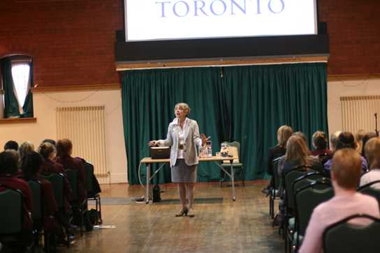 Janet Hurd from the University of Toronto