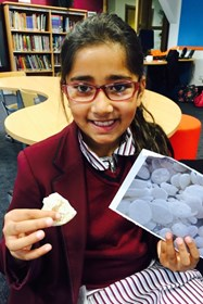 Aaliyah Kumar shared a lullaby, and brought an example of the sweet treat it features: Patasha