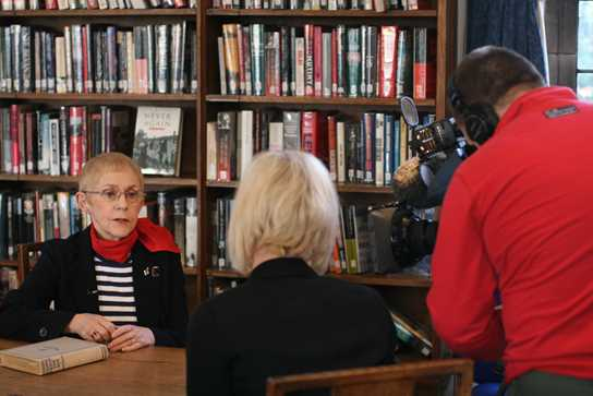 Anne Edwards is interviewed by Granada Reports
