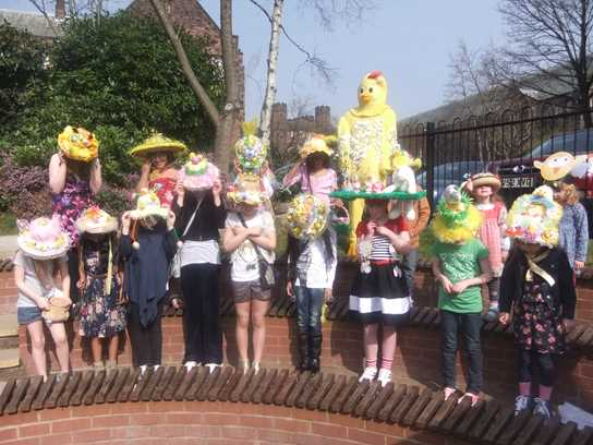 The Easter Bonnet Parade was a sight to behold!