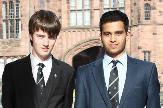 Myles Blackwell and Surya Prasad