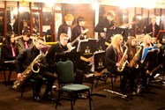 Music from the Joint Jazz Band provided excellent entertainment
