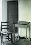 School desk and iconic Great Hall chair