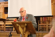Professor Hennessy delivered a fascinating insight into the Cold War