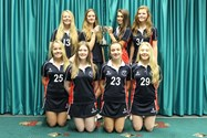 The Year 10 Netball Team with their trophy