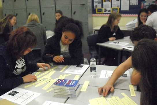 Pupils took part in a range of MFL workshops and challenges