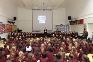 A poignant assembly