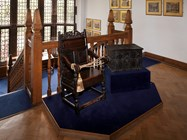 The School Chest and Headmasters Chair