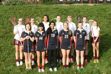 The girls selected for the U15 Lancashire Lacrosse team (please see below for details)