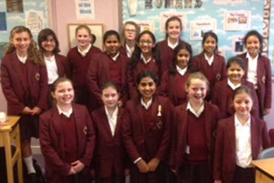 The Junior Girls who took part in the AJIS Chess Tournament