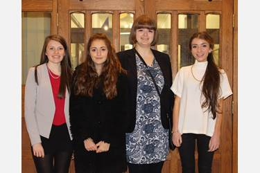 Laura, Serena, Olivia and Bella will next compete in the North-West Regional Final