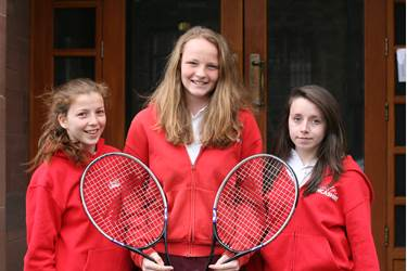Lancashire Tennis girls