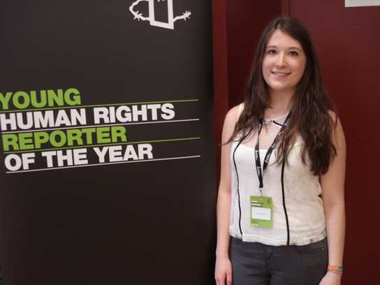 Young Human Rights Reporter of the Year competition