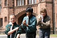 Helpers from the 19th Bolton School Scout Group