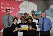 The boys were runners-up in the National Final of the Toyota Technology Challenge