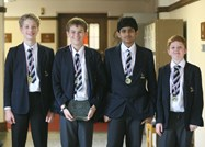 Thomas, Adam, Amartya and Luke
