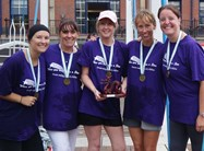Nursery Team at Salford Quays Dragon Boat Challenge