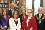 Miss Hincks and Heather Harrison, welcome Mr Griffiths, Chairman of Governors, the Mayor and Mayoress of Bolton and Mrs Relph District Judge