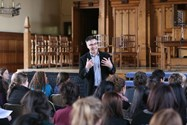 Dr Jay Kennedy at Bolton School