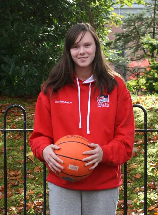 Elise Middleton has been selected for the North West Under 15 Regional Basketball team