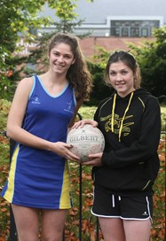 Sisters Ellena and Georgina Owen have been selected for rival County netball squads